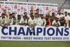 PHOTOS: ಭಾರತ-ವೆಸ್ಟ್ ಇಂಡೀಸ್ 2ನೇ ಟೆಸ್ಟ್ ಪಂದ್ಯದ ಕೆಲ ರೋಚಕ ಕ್ಷಣಗಳು