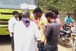 ಕುಡಿದ ಮತ್ತಿನಲ್ಲಿ ಬೈಕ್ ಓಡಿಸುತ್ತಿದ್ದ ಬೈಕ್ ಸವಾರನಿಗೆ ಥಳಿಸಿದ ಸಾರಿಗೆ ಸಂಸ್ಥೆ ಬಸ್ ಚಾಲಕ