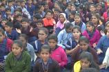 ತುಮಕೂರು: ಶ್ರೀಗಳ ಆರೋಗ್ಯ ಸುಧಾರಿಸಲಿ ಎಂದು ವಿದ್ಯಾರ್ಥಿಗಳ ಪ್ರಾರ್ಥನೆ