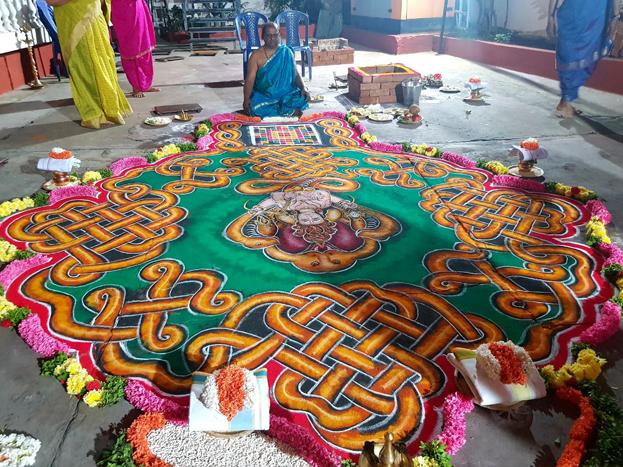 ವಿಶೇಷ ಪೂಜೆಗೆ ಸಿದ್ಧಗೊಂಡಿರುವ ನಟ ಸುದೀಪ್ ನಿವಾಸ