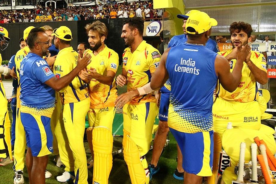 ಕೊಲ್ಕತ್ತಾ ವಿರುದ್ಧ 5 ವಿಕೆಟ್ಗಳ ಜಯ ಸಾಧಿಸಿದ ಚೆನ್ನೈ ತಂಡ
