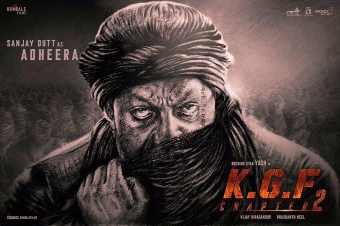 Sanjay Dutt as Adheera in KGF Chapter 2