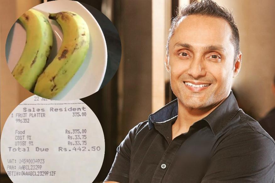 Rahul Bose video on bananas