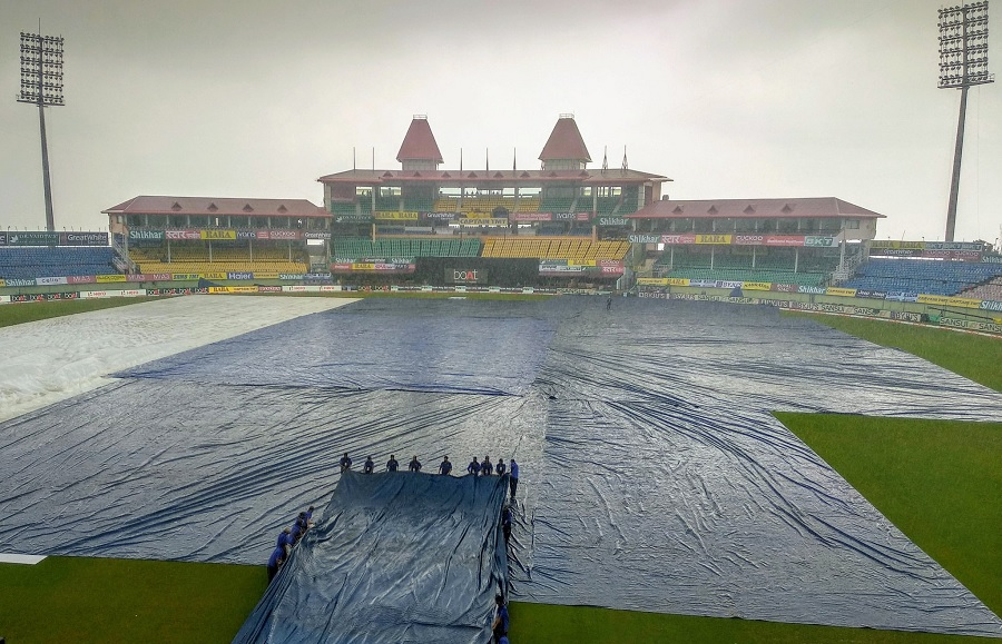 India vs South Africa, Dharamshala weather today: 1st T20I under dark clouds as it's raining at the stadium