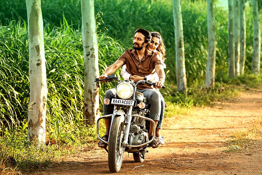 Still from Kichcha Sudeeps new movie Pailwaan