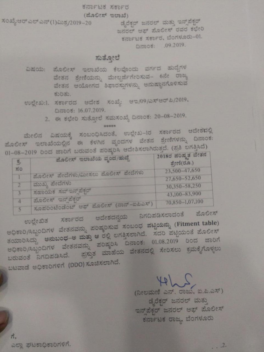 Government Order Copy