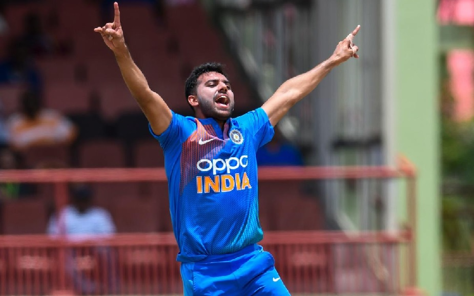 Deepak Chahar smashes seven sixes in the Syed Mushtaq Ali Trophy game against Delhi