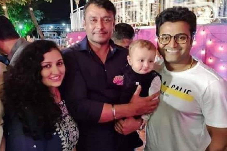 Dboss Darshan was played with Rishab Shetty's son Ranvit Shetty