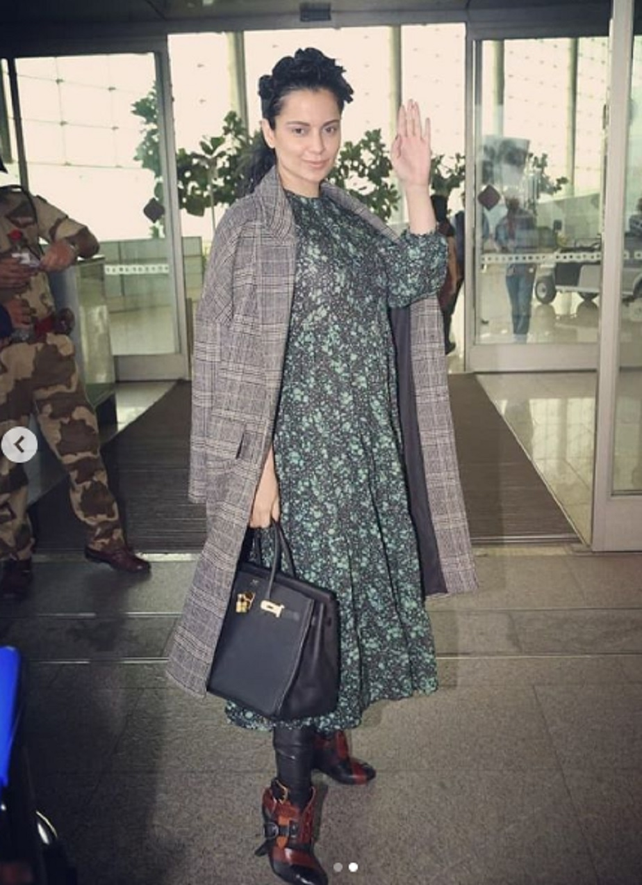 Thalaivi Fame actress Kangana is in news because of her new costly hand bag