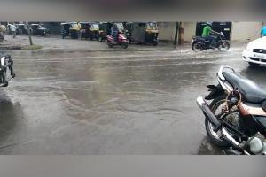 #PHOTOS: ಕಾಫಿನಾಡಿನಲ್ಲಿ ತಂಪೆರೆದ ಮಳೆರಾಯ