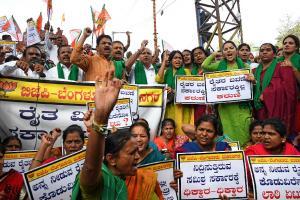 PHOTOS: ಸಮ್ಮಿಶ್ರ ಸರ್ಕಾರದ ವಿರುದ್ಧ ಬಿಜೆಪಿ ಪ್ರತಿಭಟನೆ