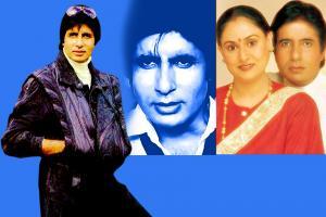 50 Years of Amitabh Bachchan: ಬಾಲಿವುಡ್ ಬಿಗ್-ಬಿ ಅಮಿತಾಭ್ರ ಅಪರೂಪದ ಚಿತ್ರಗಳು..!