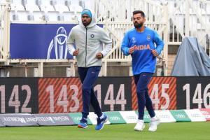 India vs Afghanistan: ಸೌತಾಂಪ್ಟನ್ನಲ್ಲಿ ಟೀಂ ಇಂಡಿಯಾ ಆಟಗಾರರ ಭರ್ಜರಿ ಅಭ್ಯಾಸ