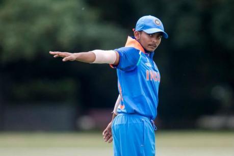 ಅಂಡರ್-19 ವಿಶ್ವಕಪ್: ಆಸ್ಟ್ರೇಲಿಯಾ ವಿರುದ್ಧ ಭಾರತಕ್ಕೆ ಭರ್ಜರಿ ಜಯ