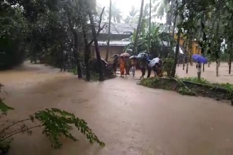 ದಸರಾ ರಜೆಗೆ ಕತ್ತರಿ ಹಾಕಿದ ದಕ್ಷಿಣ ಕನ್ನಡ ಜಿಲ್ಲೆಯ ಮಳೆ