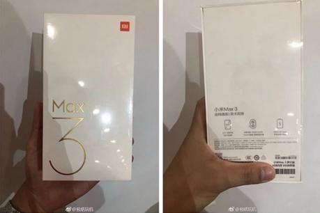 ಬಿಡುಗಡೆಗೆ ಹಿಂದಿನ ದಿನವೇ Xiaomi ಮಿ ಮ್ಯಾಕ್ಸ್ 3 ಚಿತ್ರ ಲೀಕ್!
