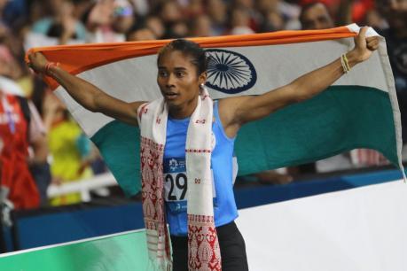 ಏಷ್ಯನ್ ಗೇಮ್ಸ್ 2018: 800 ಮೀ. ಓಟದಲ್ಲಿ ಭಾರತಕ್ಕೆ ಚಿನ್ನ: ಮಿಶ್ರ ರಿಲೇಯಲ್ಲಿ ಬೆಳ್ಳಿ