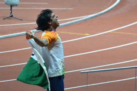 ಜಾವೆಲಿನ್ ಎಸೆತ: ನೀರಜ್ ಚೋಪ್ರಾ ರಾಷ್ಟ್ರೀಯ ದಾಖಲೆ; ಭಾರತಕ್ಕೆ 8ನೇ ಚಿನ್ನ