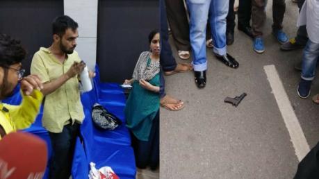 ಜೆಎನ್ಯು ಮಾಜಿ ವಿದ್ಯಾರ್ಥಿ ಮೇಲೆ ಗುಂಡಿನ ದಾಳಿ: ಪ್ರಾಣಾಪಾಯದಿಂದ ಪಾರಾದ ಉಮರ್ ಖಾಲಿದ್