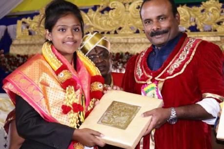 ಕ್ರೀಡಾ ಕ್ಷೇತ್ರದಲ್ಲಿ ಅತ್ಯುನ್ನತ ಸಾಧನೆ ಮಾಡಿದ 'ಸಬಿಯಾ'ಗೆ 'ಕೆಂಪೇಗೌಡ ಪ್ರಶಸ್ತಿ'