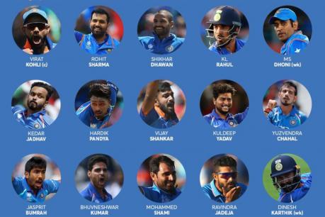 ICC World Cup 2019: ವಿಶ್ವಕಪ್ಗೆ ಟೀಂ ಇಂಡಿಯಾ ಪ್ರಕಟ; 15 ಆಟಗಾರರ ಹೆಸರು ಇಲ್ಲಿದೆ ನೋಡಿ!