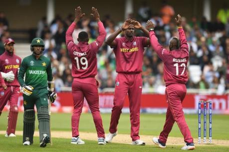 Cricket World Cup 2019, WI vs PAK: ಮೊದಲ ಪಂದ್ಯದಲ್ಲೇ ಪಾಕ್ಗೆ ಭಾರೀ ಮುಖಭಂಗ; ವಿಂಡೀಸ್ಗೆ 7 ವಿಕೆಟ್ಗೆ ಜಯ