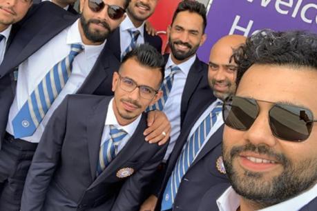 ICC World Cup 2019: ಆಂಗ್ಲರ ನಾಡಿಗೆ ಕಾಲಿಟ್ಟ ವಿರಾಟ್ ಸೈನ್ಯ; ಕಿವೀಸ್ ವಿರುದ್ಧ ಮೊದಲ ಅಭ್ಯಾಸ ಪಂದ್ಯ